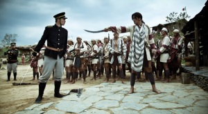 Imagen extraída de la película Warriors of the Rainbow, sobre la ocupación japonesa en Taiwán.